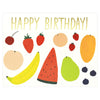 Red Cap Cards Fruits Birthday Card - GREER Chicago Online Stationery Shop