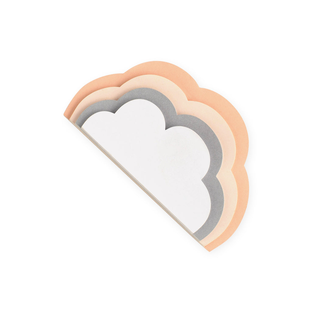 Roobee Die Cut Cloud Notepad
