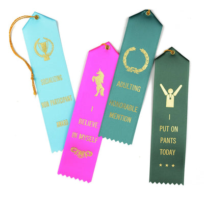 Socializing Non Participant Award Ribbon & Greeting Card The Heirloom Tomato's  - GREER Chicago