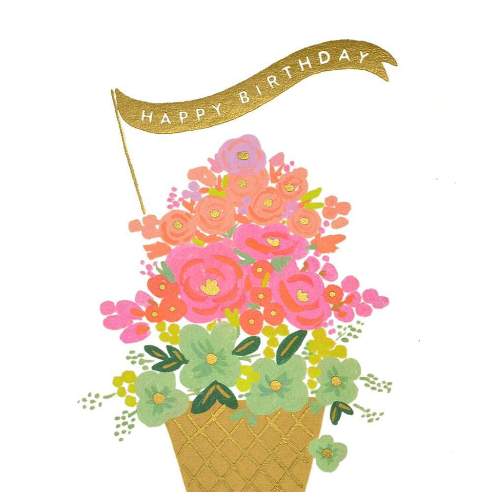 Rifle Paper Co. Ice Cream Birthday Card