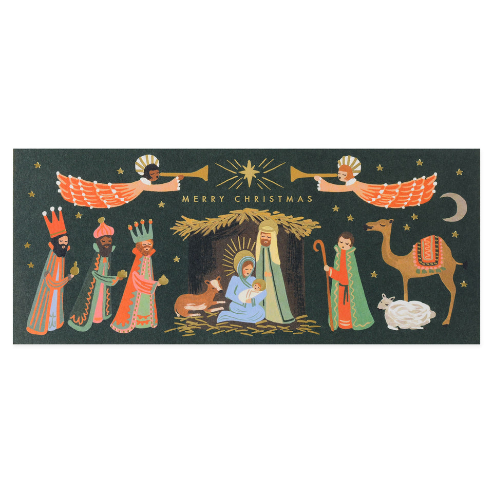 Rifle Paper Co. Holiday Nativity Cards Boxed