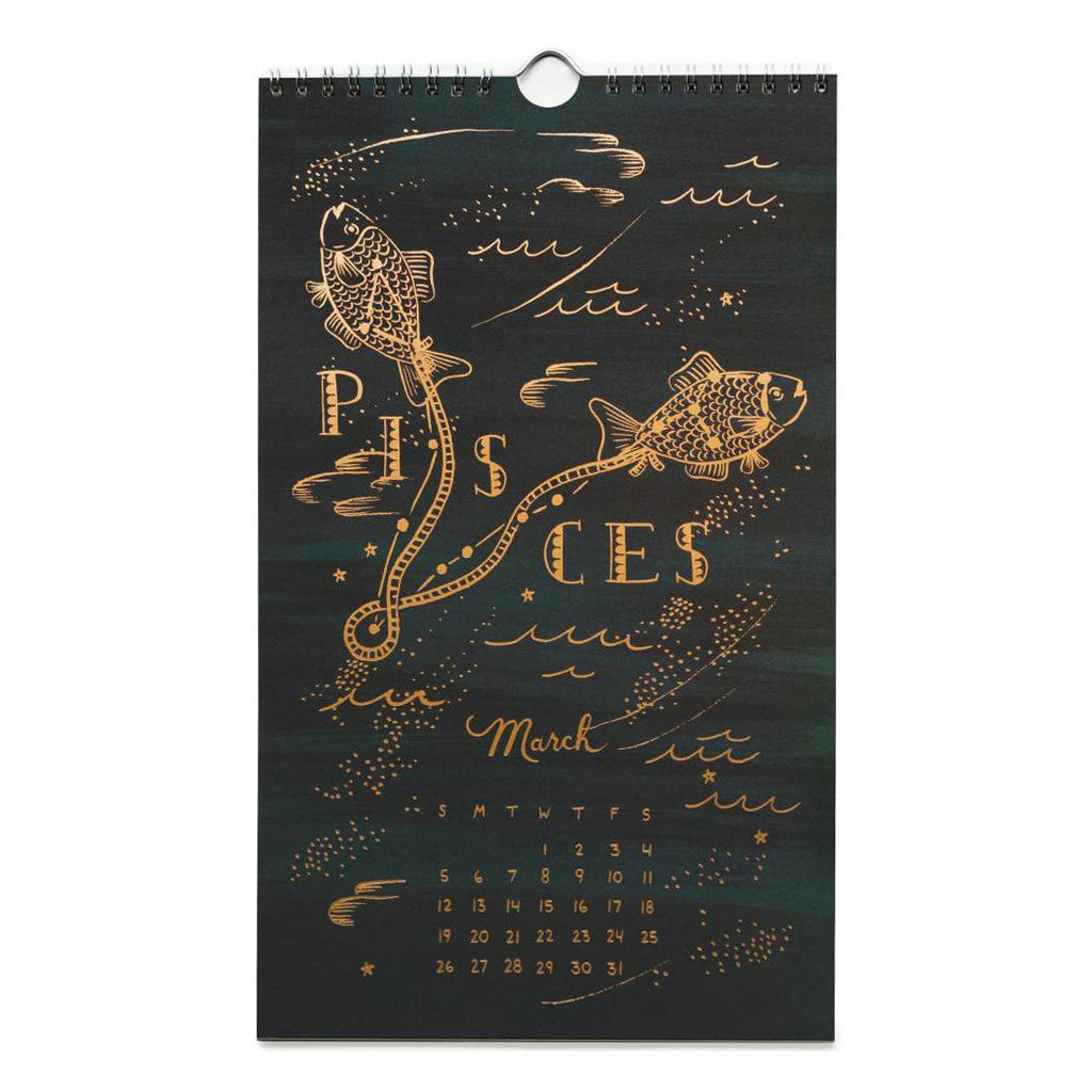 2017 Constellations Wall Calendar By Rifle Paper Co. - 3