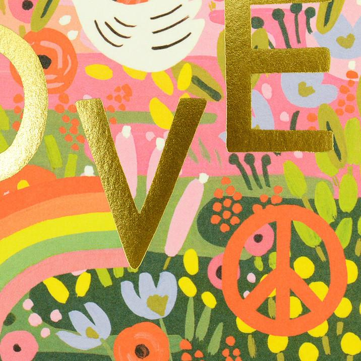 Rifle Paper Co. All You Need Is Love Greeting Card - GREER Chicago Online Stationery Shop