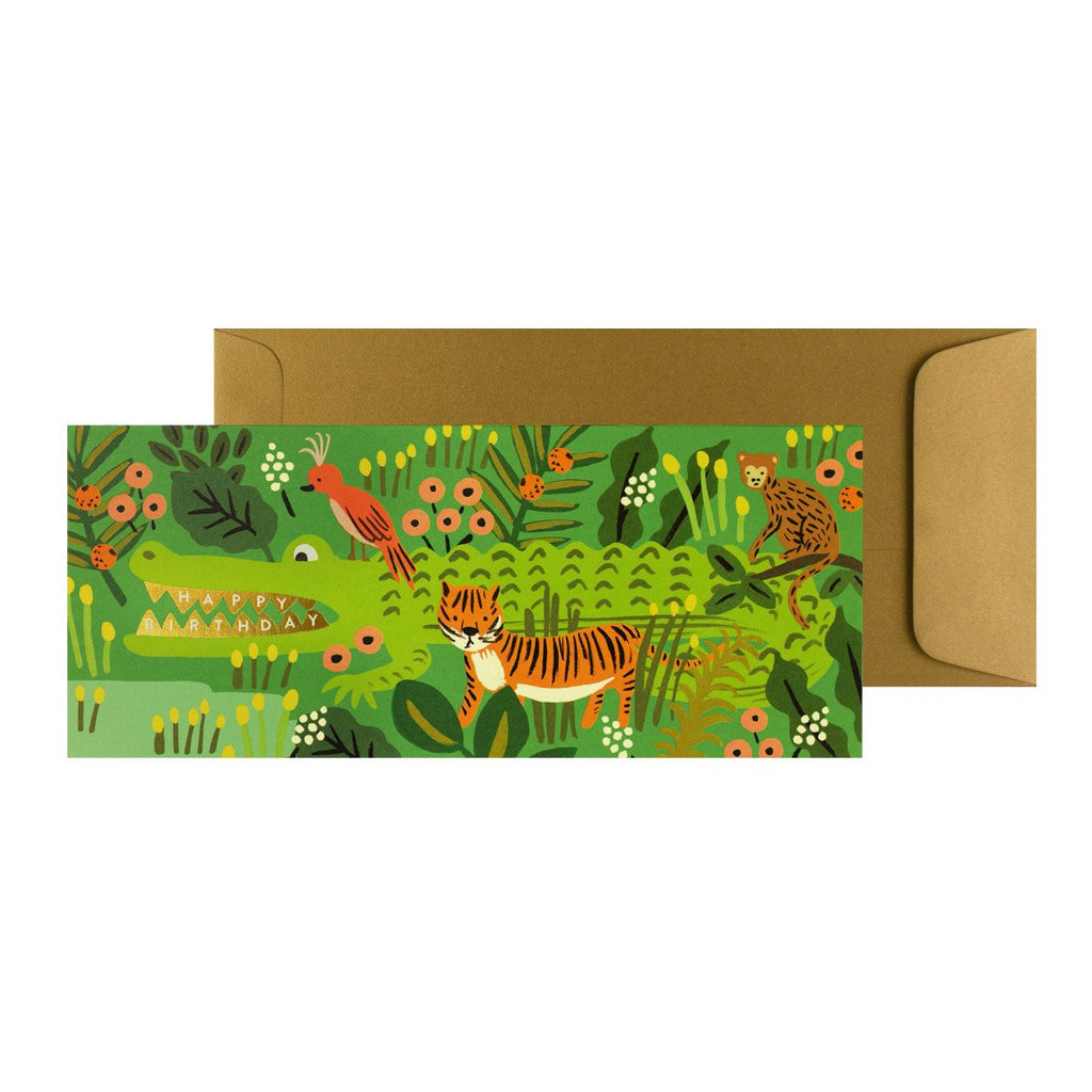Rifle Paper Co. Alligator Birthday Card - GREER Chicago Online Stationery Shop