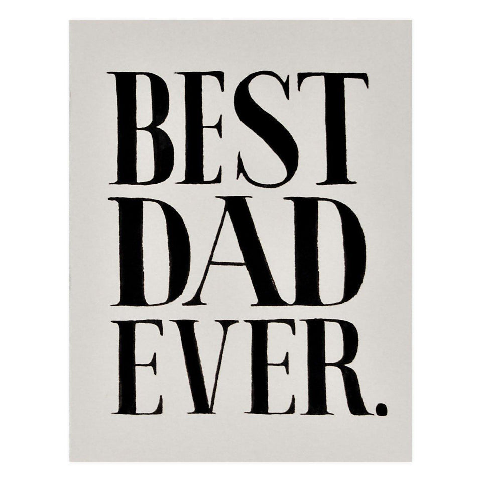 Rifle Paper Co. Best Dad Ever Father's Day Card