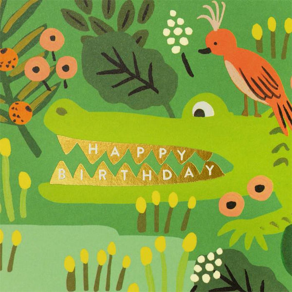 Alligator Birthday Card By Rifle Paper Co. - 1