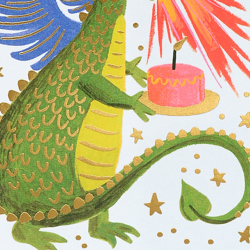 Rifle Paper Co. Birthday Dragon Greeting Card