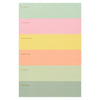 Color Block Weekly Memo Notepad Rifle Paper Co.  - GREER Chicago