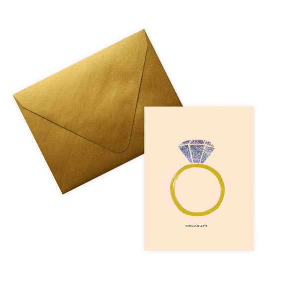 Congrats Engagement Card By Rifle Paper Co. - 1