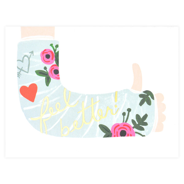 Rifle Paper Co. Feel Better Get Well Card - GREER Chicago Online Stationery Shop
