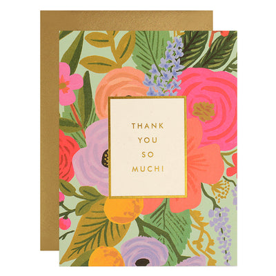 Rifle Paper Co. Garden Party Folded Thank You Cards Boxed Set
