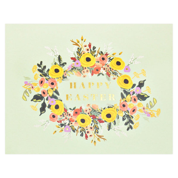 Easter Garden Greeting Card - GREER Chicago Online Stationery