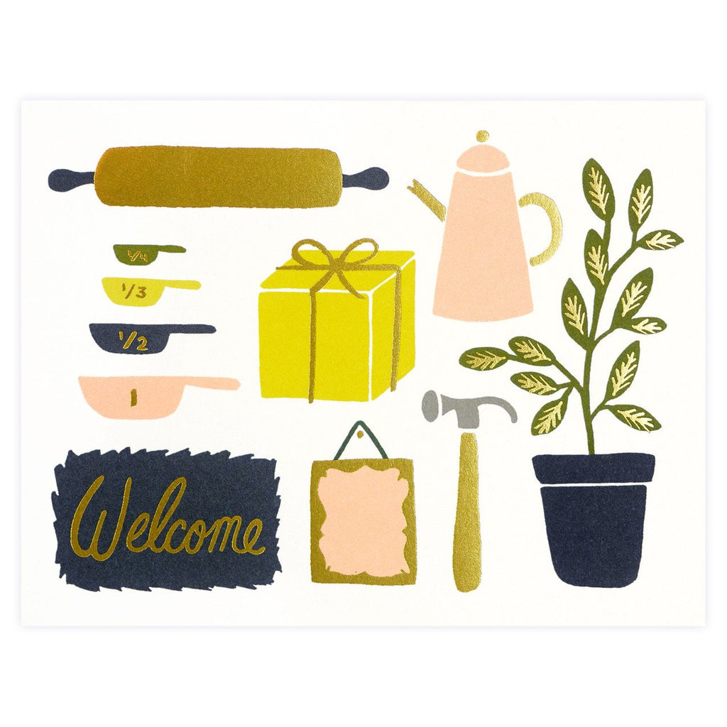 Housewarming Greeting Card - GREER Chicago Online Stationery