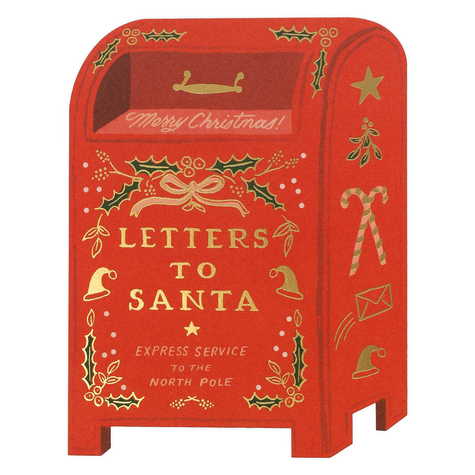 Rifle Paper Co. Letters to Santa Christmas Cards Boxed or Single