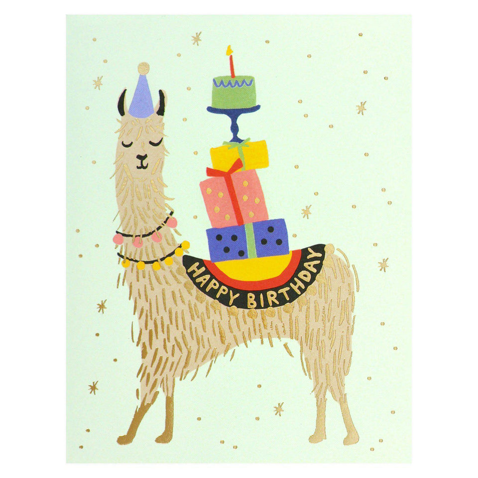 Rifle Paper Co. Llama Birthday Card