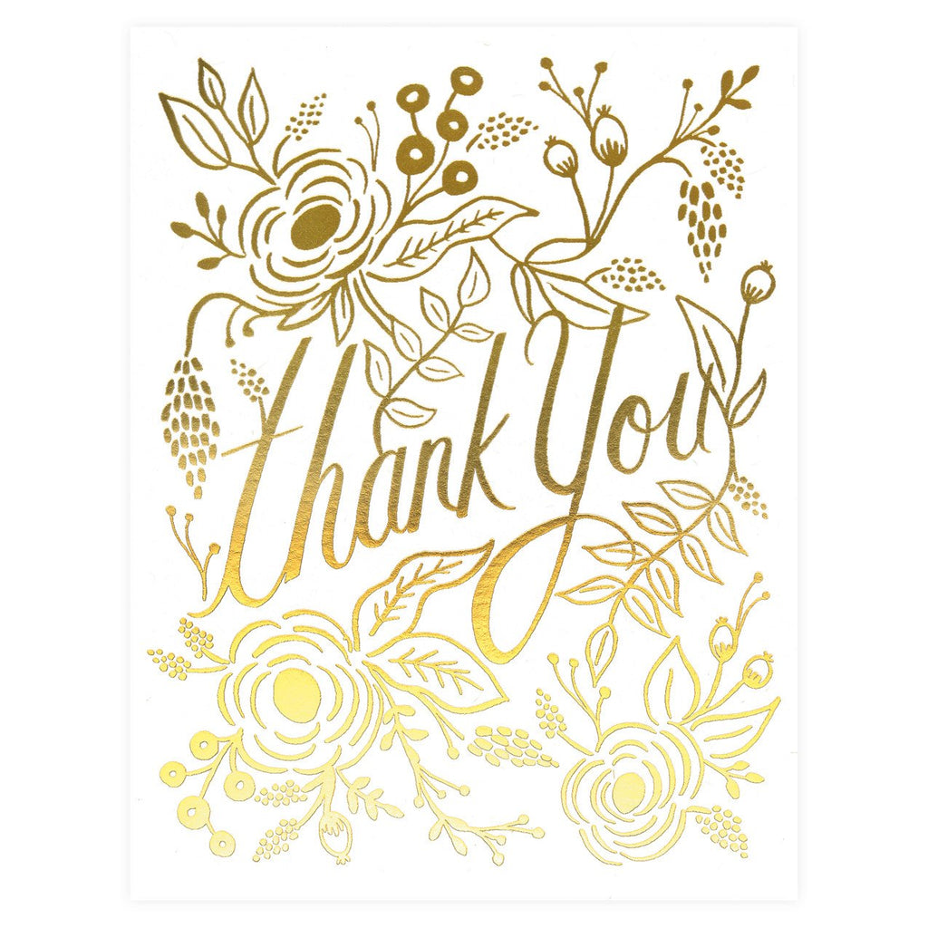 Rifle Paper Co. Marion Folded Thank You Cards Boxed