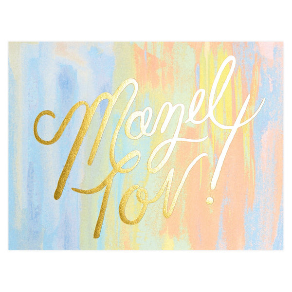 Mazel Tov Greeting Card By Rifle Paper Co.