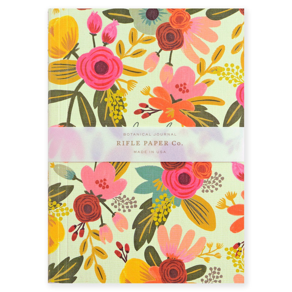 Mint Floral Journal By Rifle Paper Co. - 2
