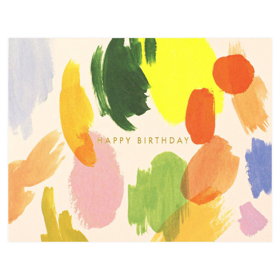 Rifle Paper Co. Palette Birthday Single Card Or Boxed Set