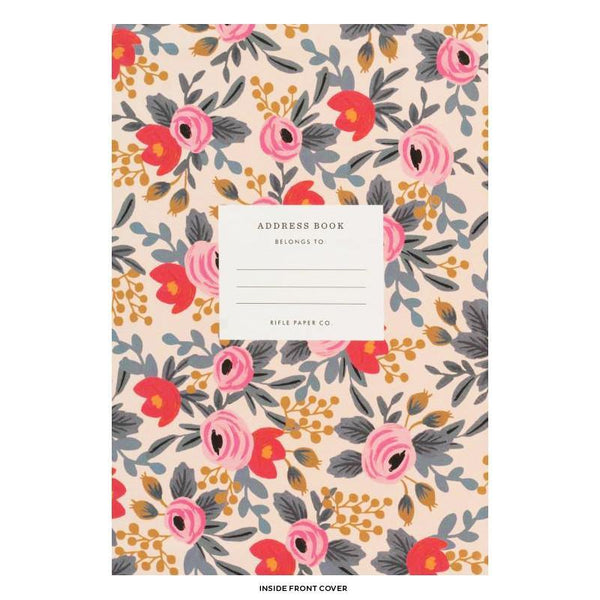 Rifle Paper Co. Raven Address Book - GREER Chicago Online Stationery Shop