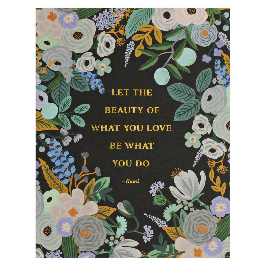 Rifle Paper Co. Rumi Quote Greeting Card