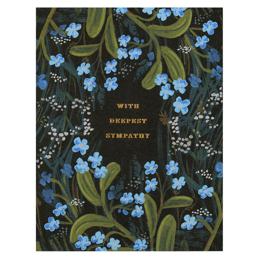 Rifle Paper Co. Sympathy Bouquet Greeting Card - GREER Chicago Online Stationery Shop