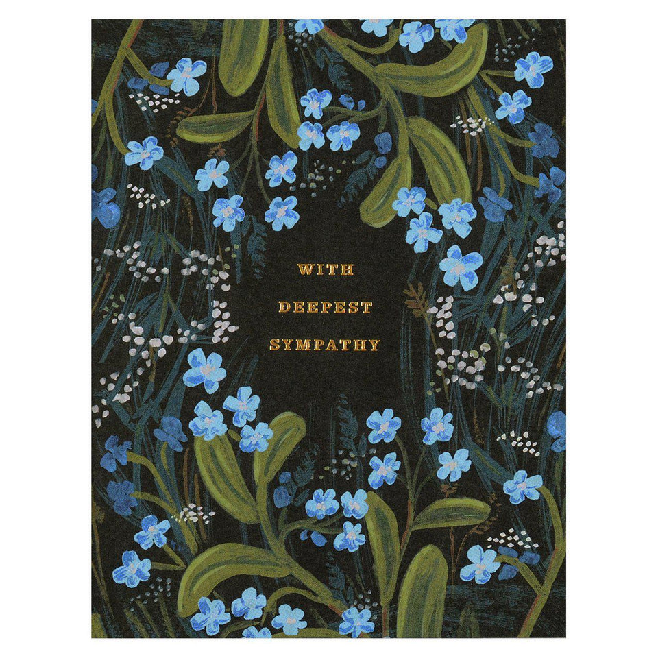 Rifle Paper Co. Sympathy Bouquet Greeting Card