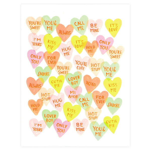 Rifle Paper Co. Valentine Sweetheart Greeting Card - GREER Chicago Online Stationery Shop