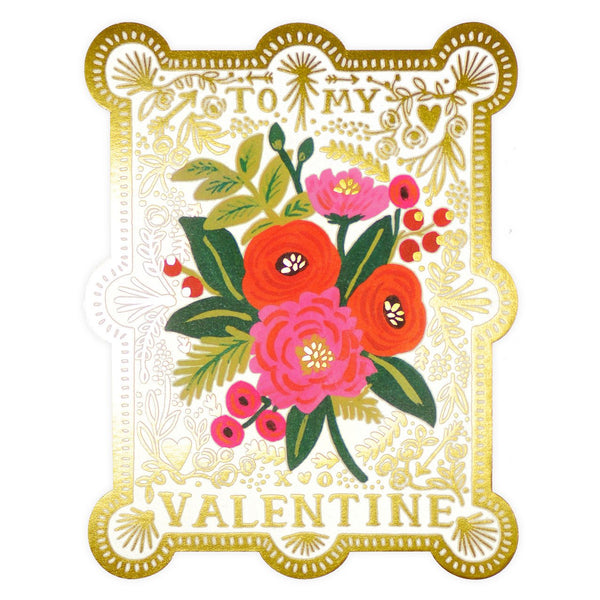 Rifle Paper Co. Vintage Valentine Greeting Card - GREER Chicago Online Stationery Shop