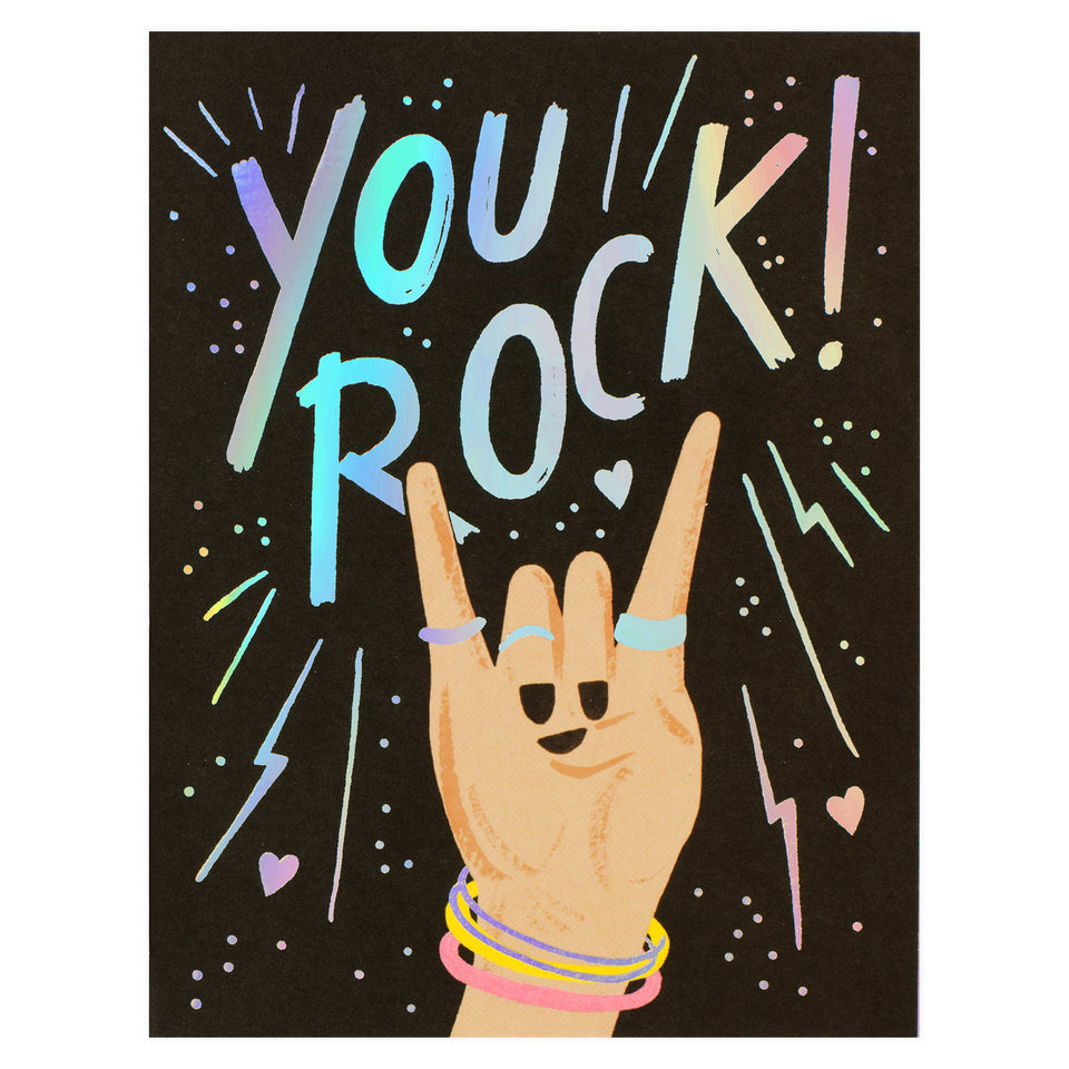 Rifle Paper Co. You Rock Greeting Card