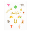 Rifle Paper Co. Good Luck Charms Greeting Card - GREER Chicago Online Stationery Shop