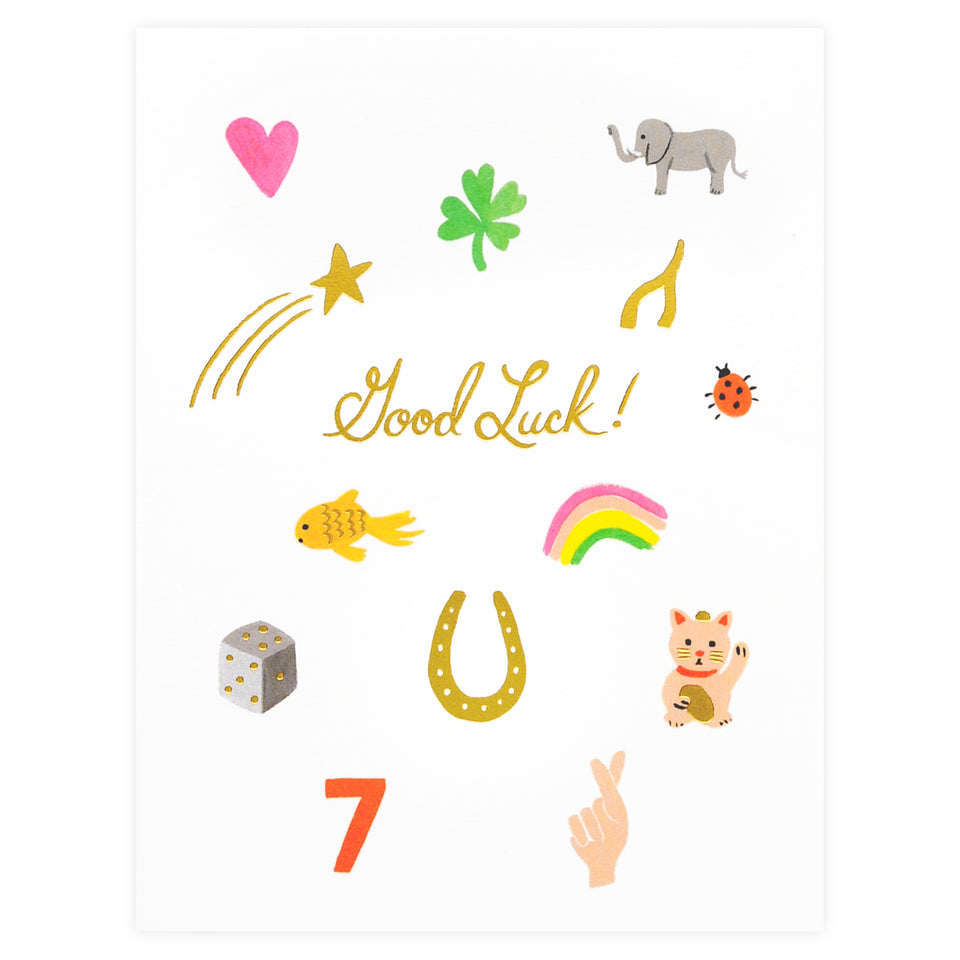 Rifle Paper Co. Good Luck Charms Greeting Card