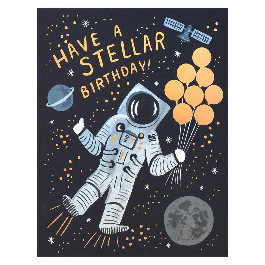 Rifle Paper Co. Stellar Birthday Card - GREER Chicago Online Stationery Shop