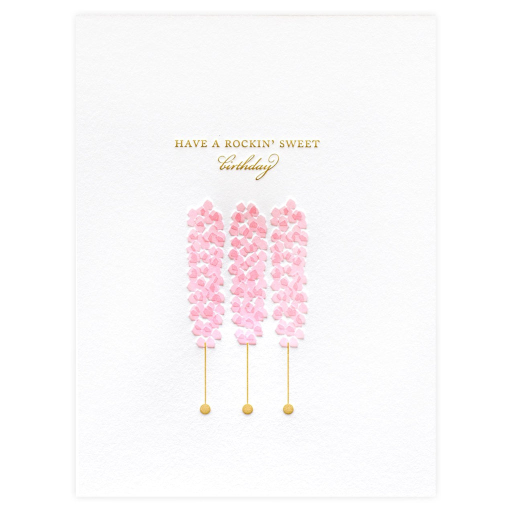 Rock Candy Birthday Card By Dee & Lala