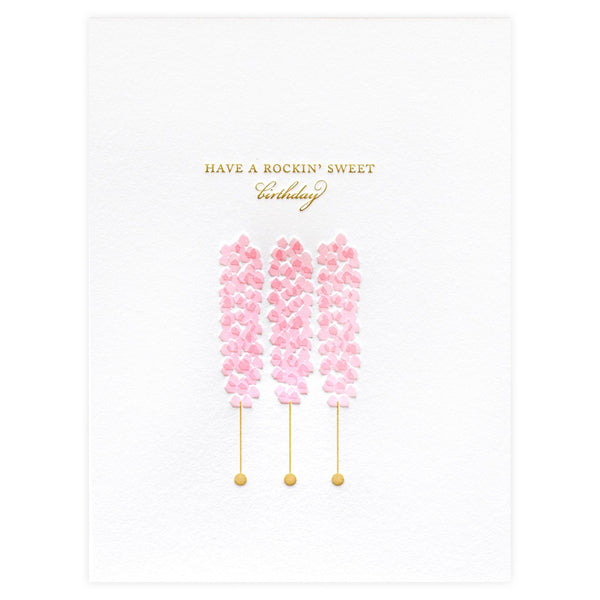 Rock Candy Birthday Card - GREER Chicago Online Stationery