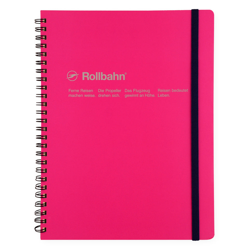 Delfonics Rollbahn Notebook Small, Large Or A5 | 6 Colors Rose / Small