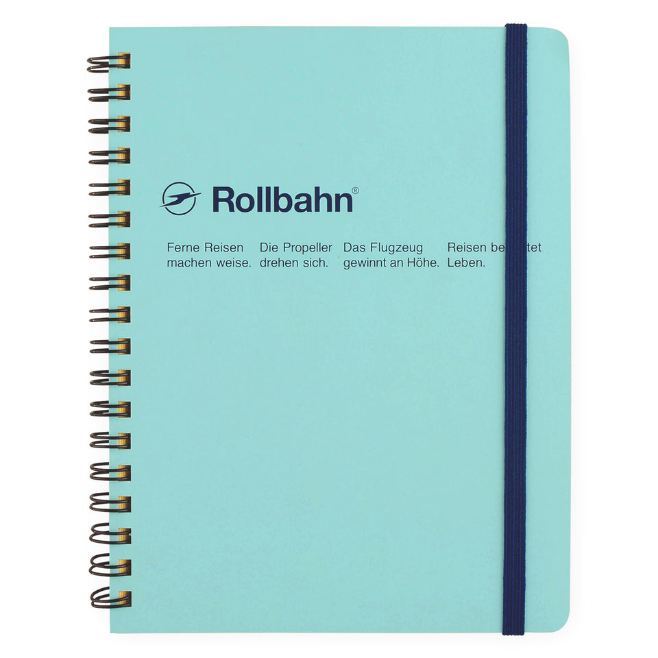 Delfonics Rollbahn Notebook Small, Large Or A5 | 6 Colors Sky Blue / Small