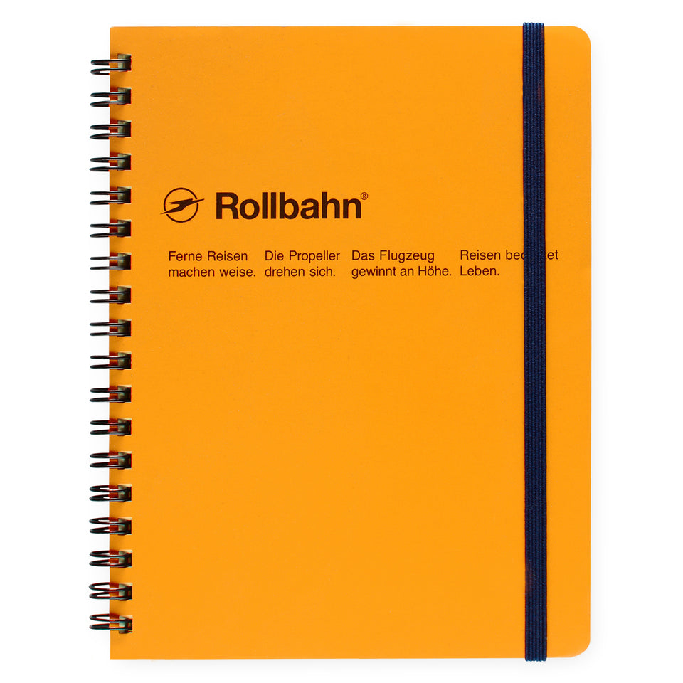 Delfonics Rollbahn Notebook Small, Large Or A5 | 6 Colors Yellow / Small
