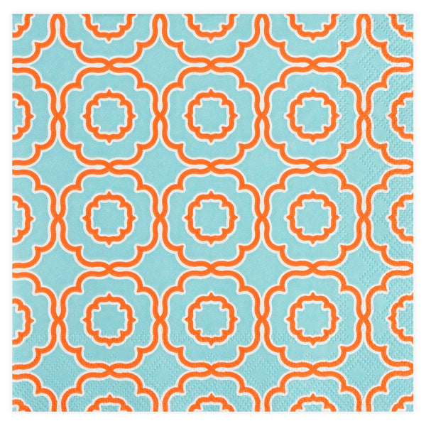 Roseanne Beck Lauren Beverage Cocktail Napkin - GREER Chicago Online Stationery