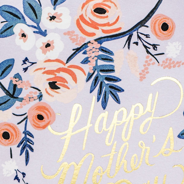 Rosy Mother's Day Card - GREER Chicago Online Stationery
