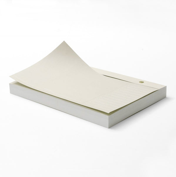 Russell + Hazel Paper Bloc Notepad Neutral - GREER Chicago Online Stationery Shop