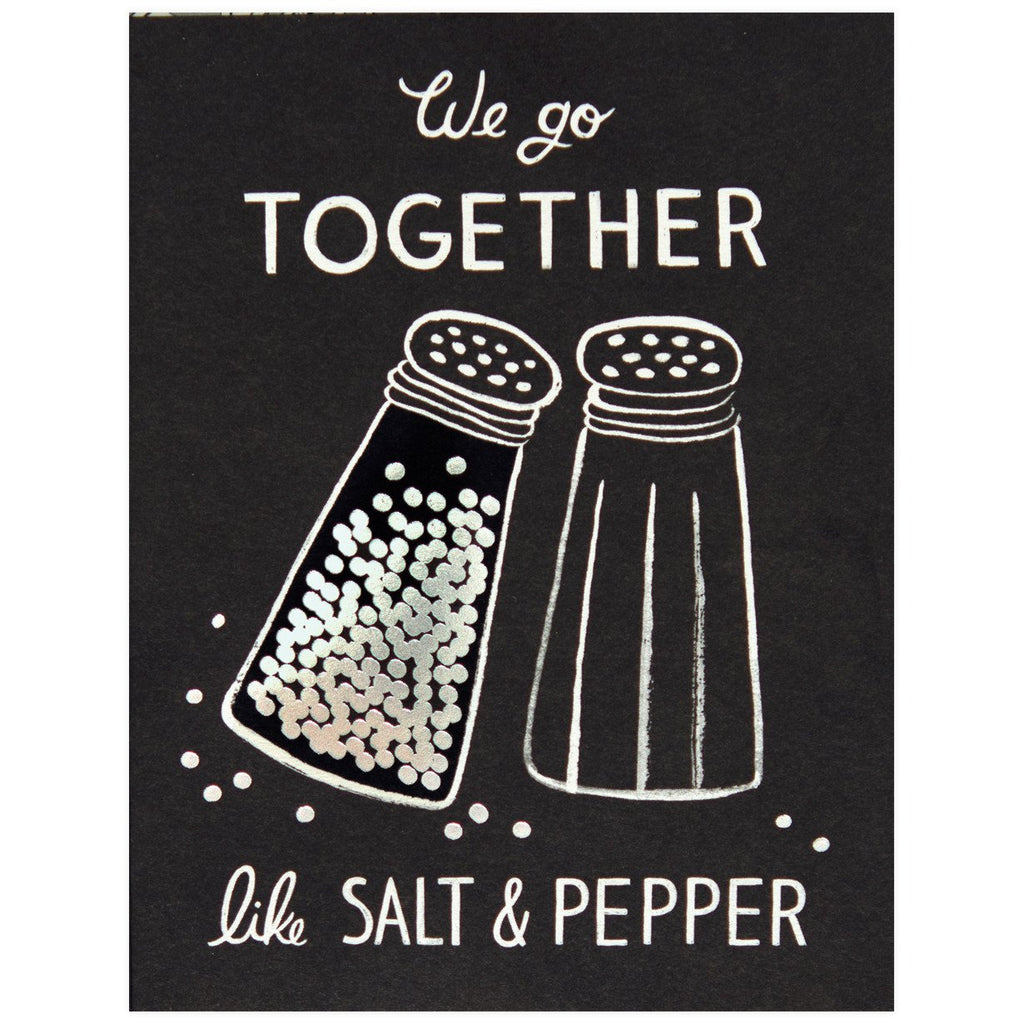 Salt and Pepper Card - GREER Chicago Online Stationery