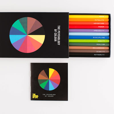 The School of Life Psychology of Colour Pencil Set of 12