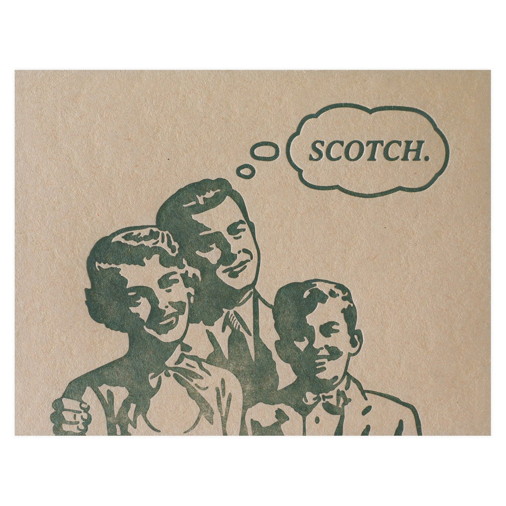 Scotch Card By Guttersnipe Press