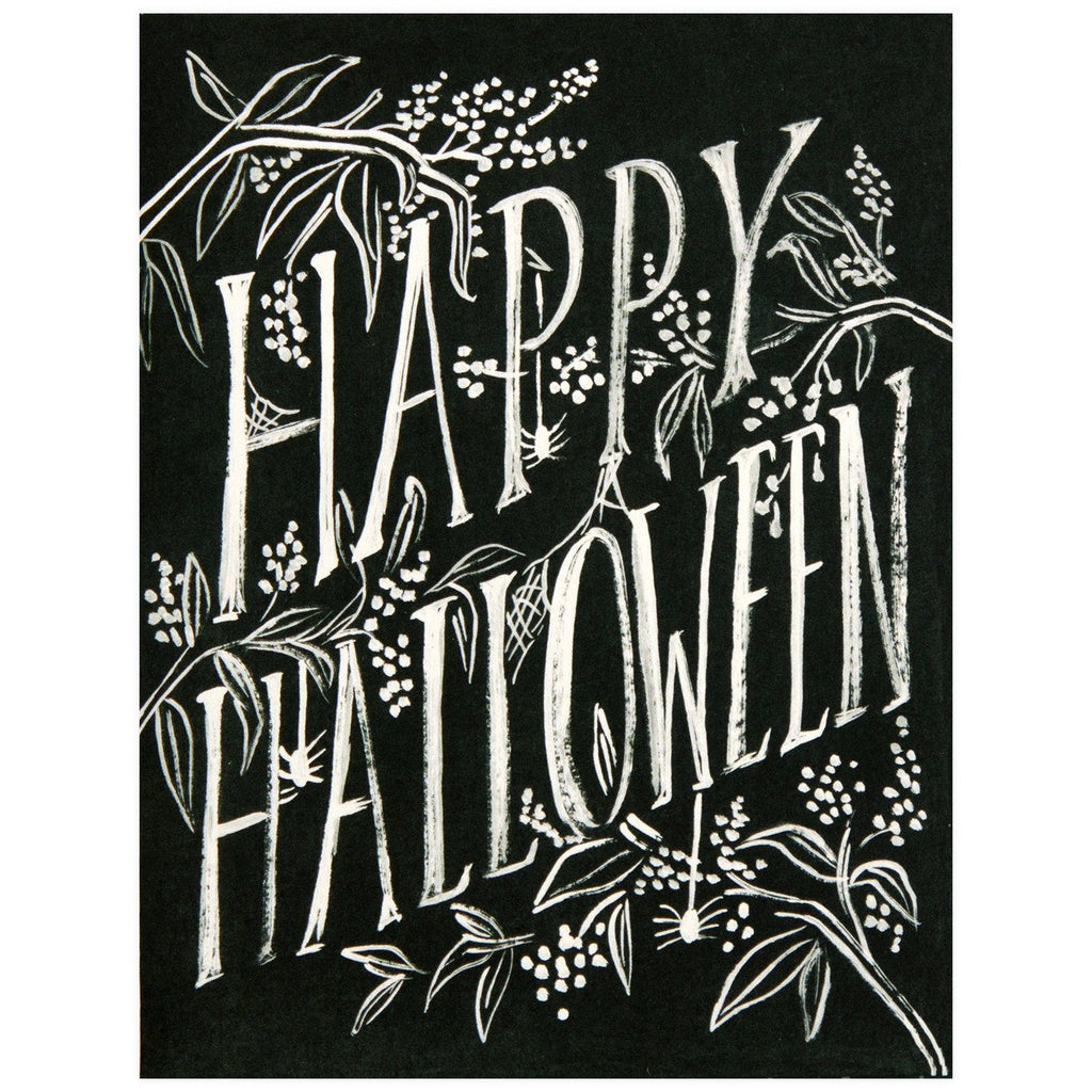 Scratchy Halloween Single Card or Box of Eight By Rifle Paper Co. - 1