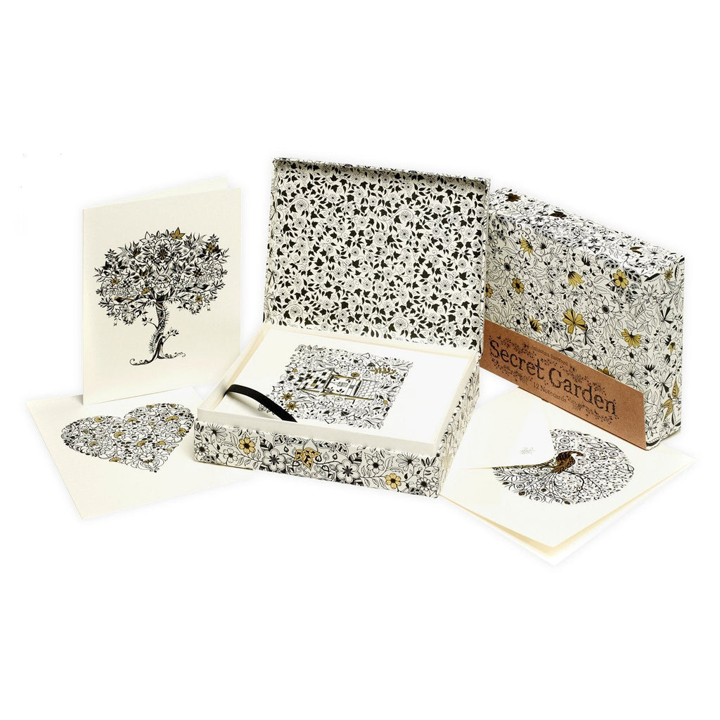 Secret Garden Note Cards - GREER Chicago Online Stationery
