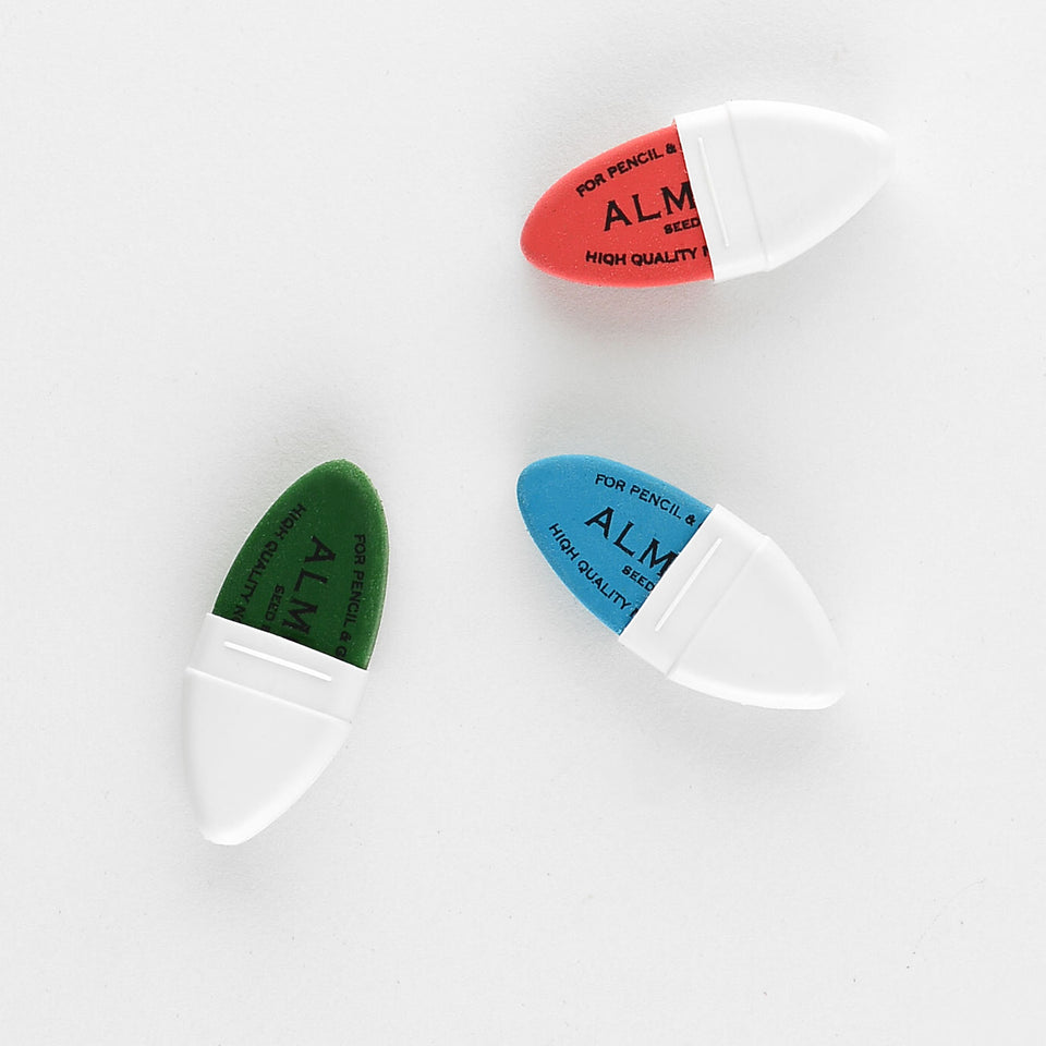 Maped Seed Almond Eraser | Green, Blue or Red