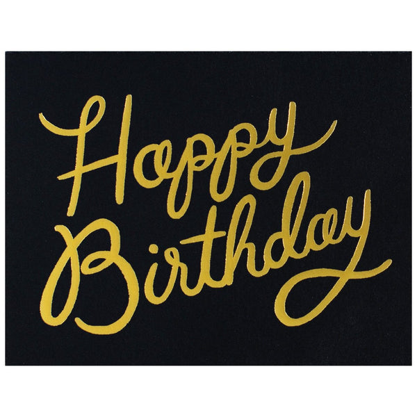 Shimmering Birthday Single Card or Boxed Set - GREER Chicago Online Stationery