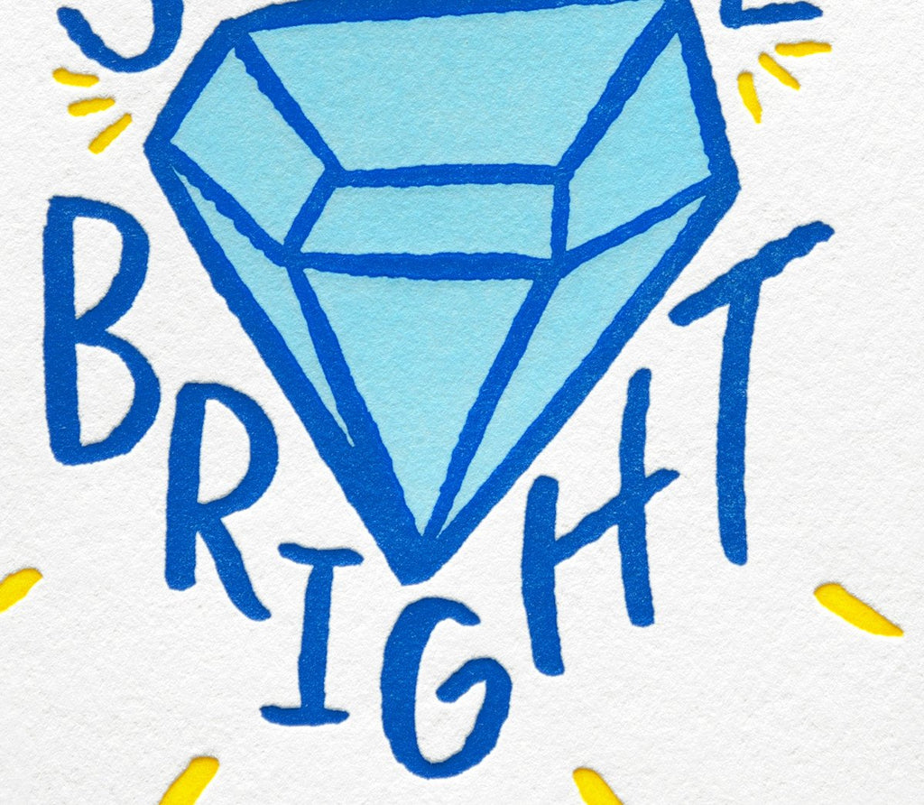 Shine Bright Congratulations Card By Bench Pressed - 3