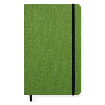 Shinola Detroit Medium Soft Cover Linen Lined Journal Artichoke - GREER Chicago Online Stationery Shop